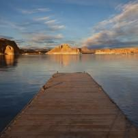 Dock, Lake Powell, Grand Canyon, Arizona, USA