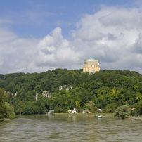 Kelheim, Franconia and the German Danube, Germany, Europe.