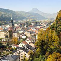 Bad Schandau, Saxony, Saxony-Anhalt, and the Thuringia, Germany, Europe.