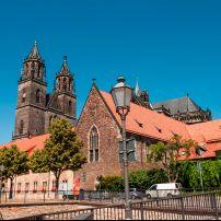 Cathedral of Magdeburg, Saxony, Saxony-Anhalt, and, Thuringia, Germany, Europe.
