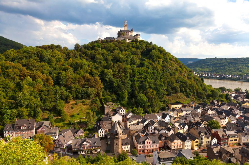 Braubach, The Rhineland, Germany, Europe.
