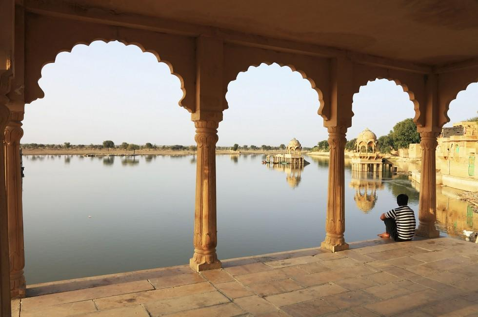 Gadisagar Lake, Jaisalmer, India