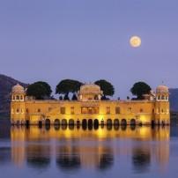 Jal Mahal, Man Sagar Lake, Jaipur, Rajasthan, India