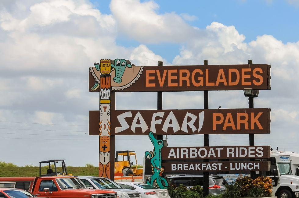 Everglades Safari Park, Miami, Florida
