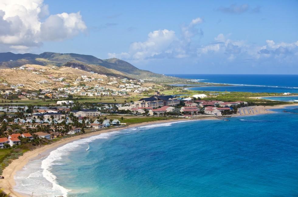 Resort, Coastline, St. Kitts, Caribbean