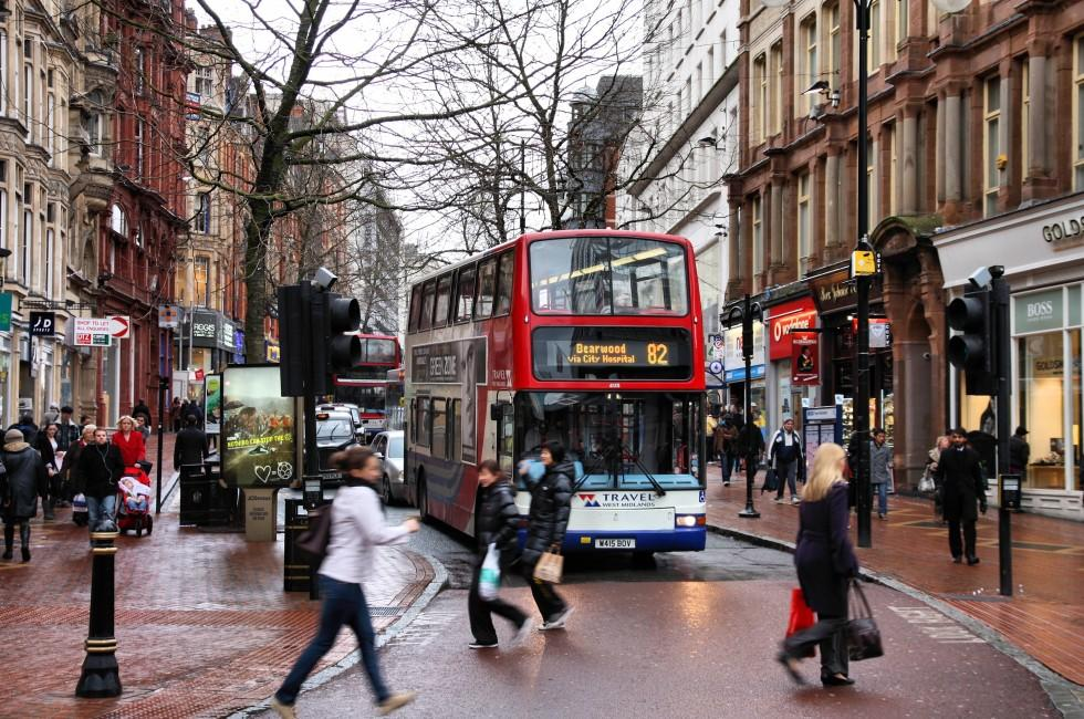 City Bus, Birmingham, Stratford upon Avon and The Heart of England, England