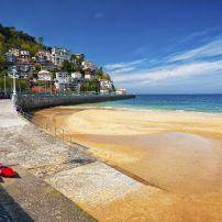 Beach, San Sebastian, Blibao and the Basque Country, Spain