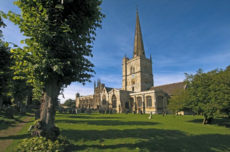Burford Parish Church, Bath and the Cotswolds, England