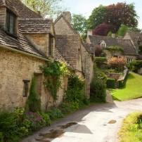 Cottages, Bibury, Cotswolds, England