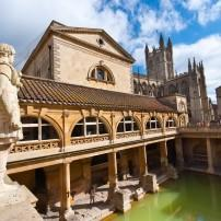 Roman Baths, Somerset, Bath and the Cotswolds, England