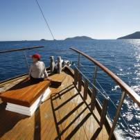 Child, Boat, Great Barrier Reef, Australia