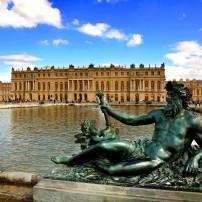 Statue, Fountain, Versailles, Ile-de-France, France