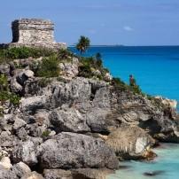 El Castillo, Tulum, The Costa Maya, Caribbean Coast, Mexico