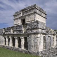 Temple of the Frescos, Tulum, Mexico
