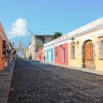 Street, Antigua, Guatemala, Puerto Quetzal, Guatemala