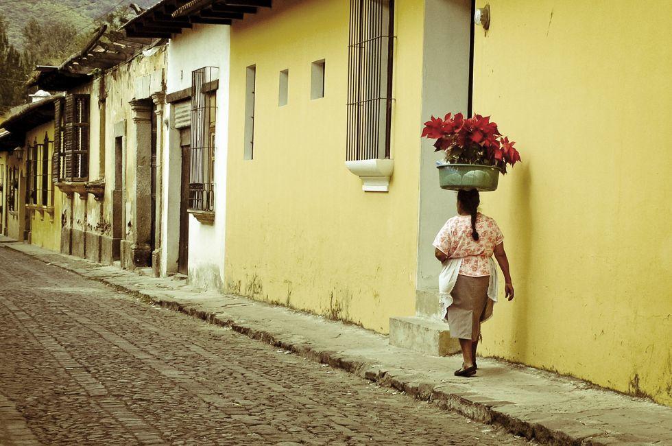 Woman, Antigua, Guatemala