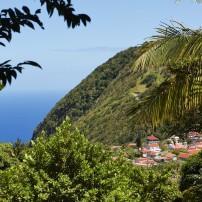 Mountain, Jungle, Village, Saba, Caribbean