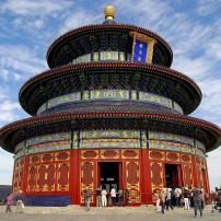 Exterior, Temple of Heaven, Beijing, China