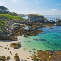 Beach, Belle Ile en Mer, Brittany, France