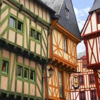Houses, Vannes, Brittany, France