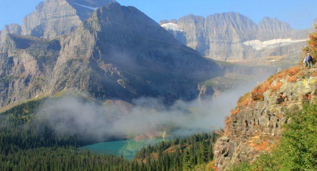 Grinnell Lake & Salamander Glacier, Glacier National Park, Montana