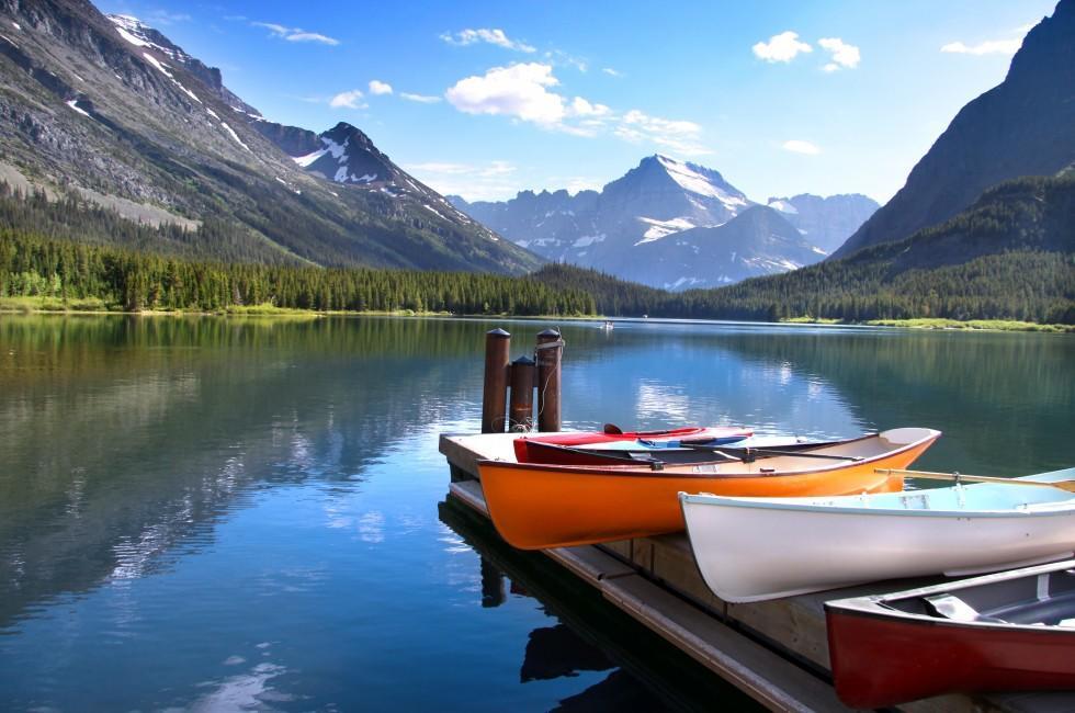 Lake McDonald, Glacier National Park, Montana, USA