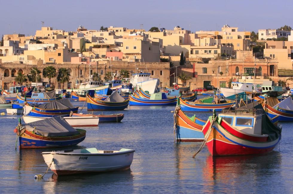 Boats, Marsaxlokk, Malta