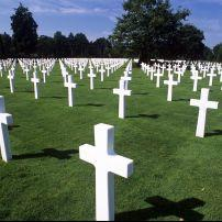 American War Cemetery at Omaha Beach, Normandy (Colleville-sur-Mer ), France