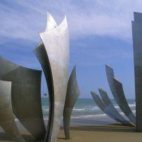 Sculpture, Omaha Beach, Formigny, Normandy, France