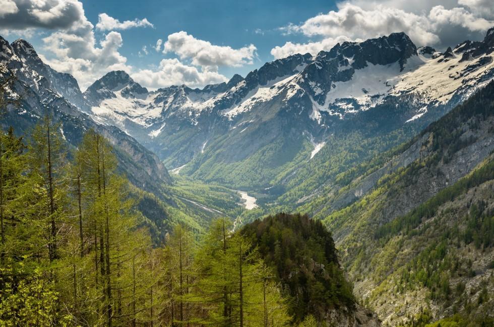 Alps, Soca Valley, Slovenia
