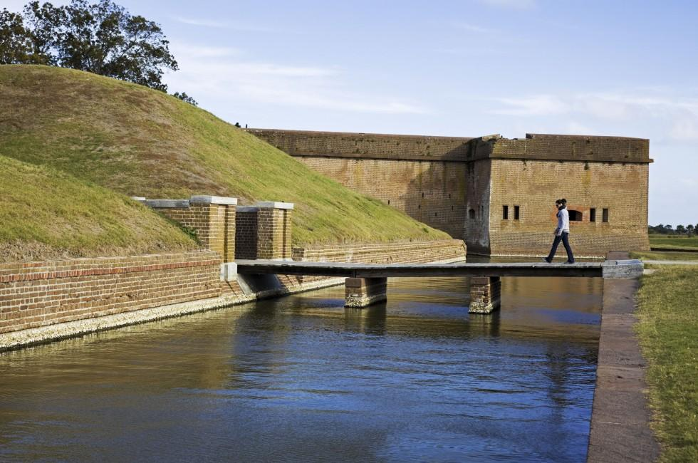 Fort Pulaski, Greater Savannah, Savannah, Georgia, USA