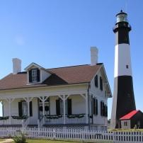 Tybee Island Lighthouse, Savannah, Georgia, USA