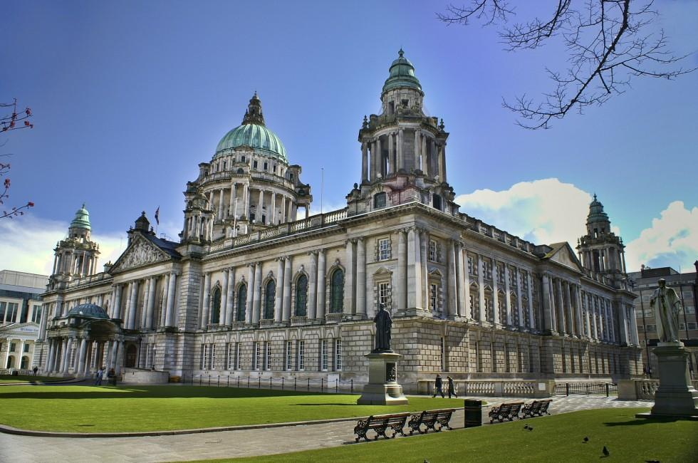 Building, Town Hall, Belfast, Northern Ireland