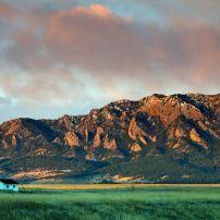 Sunrise, House, Boulder, Colorado, USA