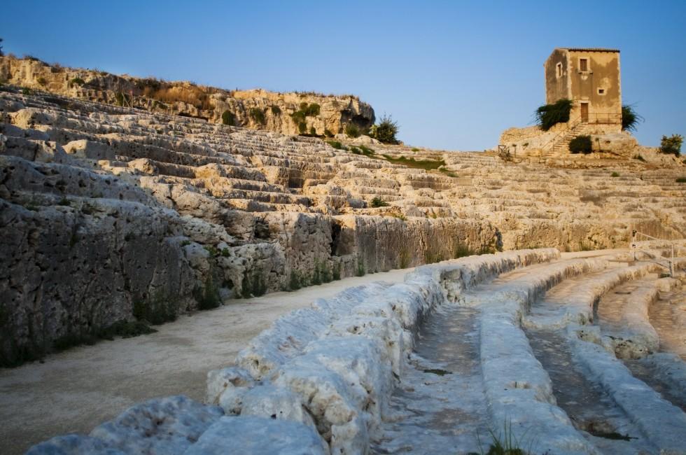 Ampitheater, Siracusa, Sicily, Italy