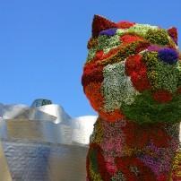 "Jeff Koon's, ""Puppy"", Guggenheim Bilbao Museoa, Bibao, Spain"