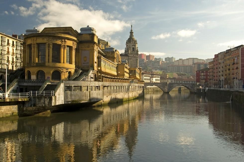 La Ribera Market, Bilbao, Bilbao and the Basque Country, Spain