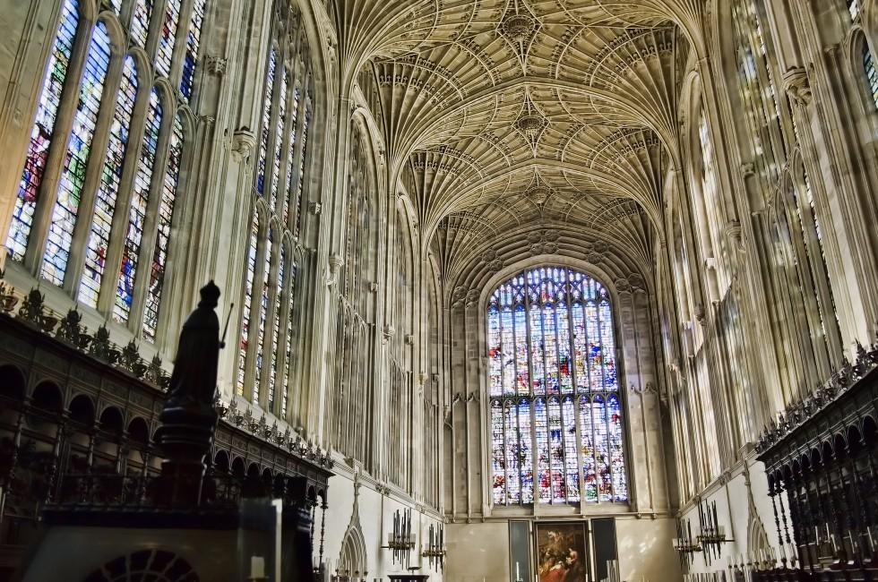 King's College Chapel, Cambridge, East Anglia, England