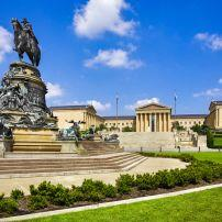 Philadelphia Museum of Art, Benjamin Franklin Parkway and Fairmount, Philadelphia, Pennsylvania, USA.