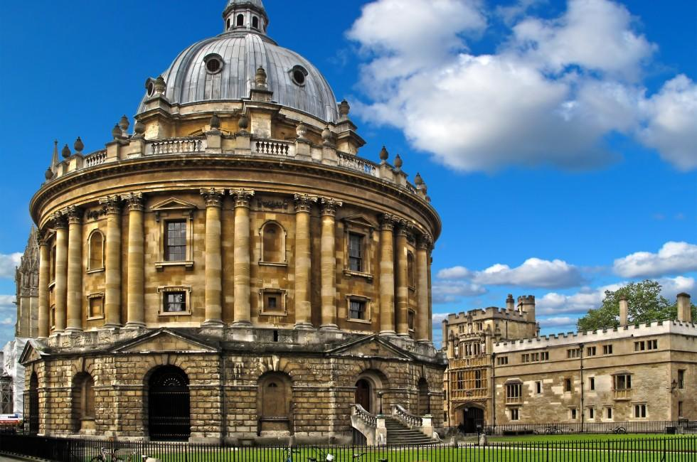 Radcliffe Camera, Bodleian Library, Oxford University, Oxford, The Thames Valley, England