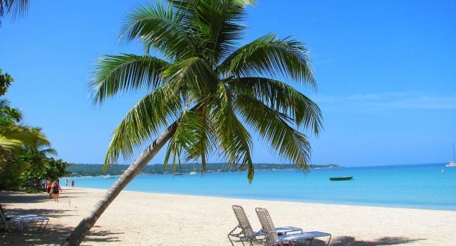 Beach, Negril Beach, Jamaica, Caribbean
