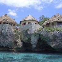 Houses, People, Swimming, Negril, Jamaica,