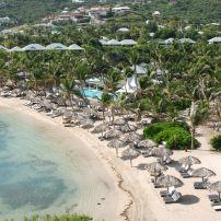 Guanahani Beach, Grand Cul-de-Sac Bay, St. Barthelemy, Caribbean