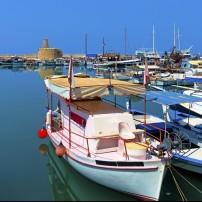 Marina, Kyrenia Castle, Cyprus