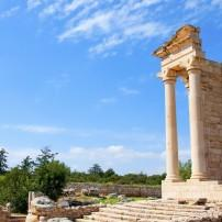 Ruins, Sanctuary of Apollo, Hylates, Cyprus