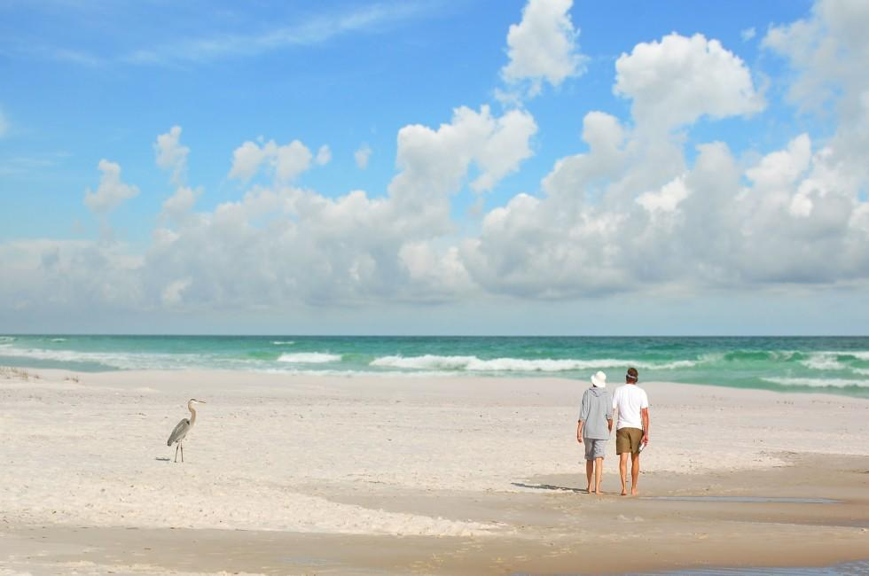 Couple, Beach, Pensacola, The Panhandle, Florida, USA