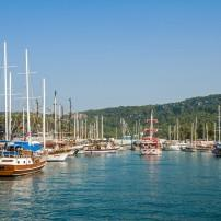 Kemer Marina, Antalya, Turkey