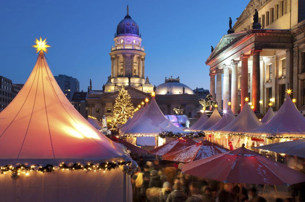 Christmas market, Berlin, Germany, Europe.