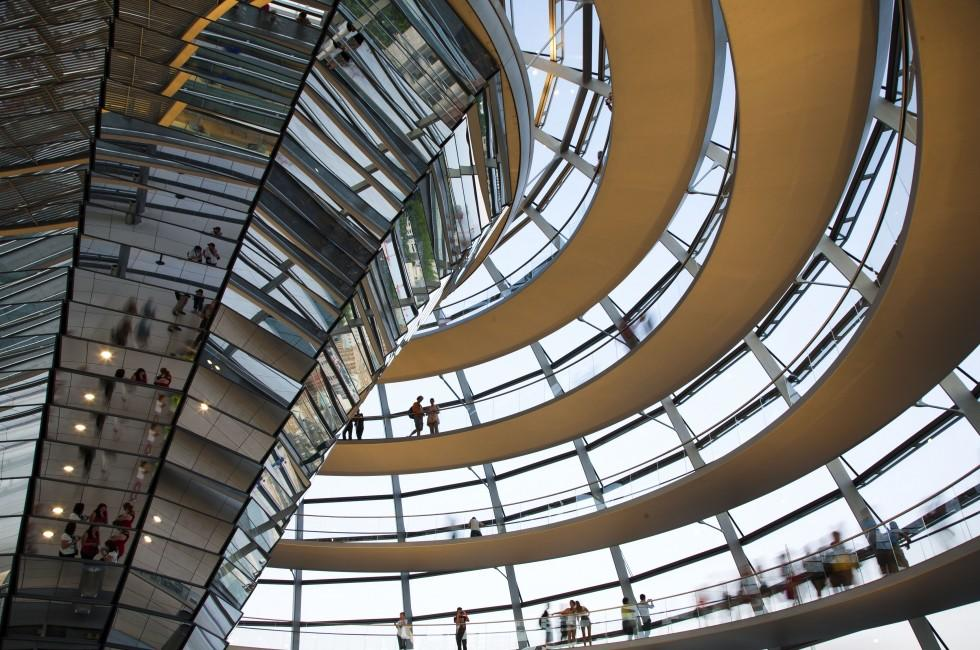 Dome, Reichstag, Berlin, Germany