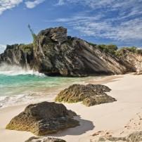 Cliffs, Beach, Bermuda, Caribbean